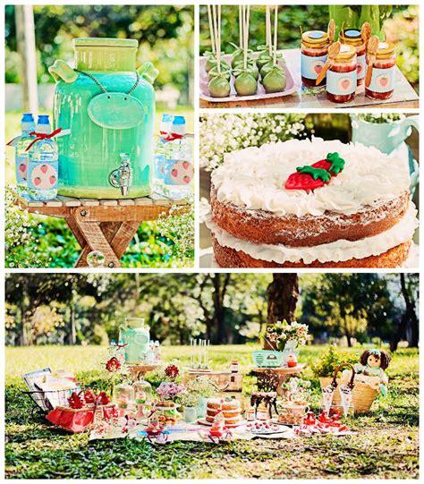 kara s ideas summer picnic themed birthday via
