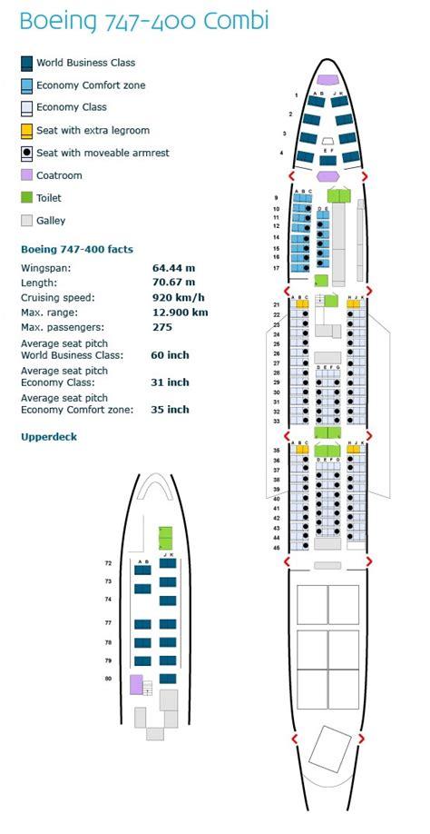 aircraft 747 seating plan image gallery klm 747 400 seating