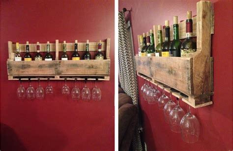 How To Make A Wine Rack From Pallets by Display Your Wines On These 15 Wonderful Diy Wine Racks