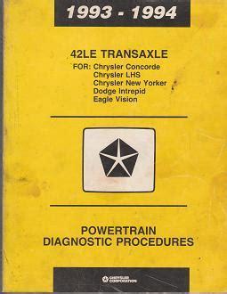 small engine service manuals 1993 dodge intrepid lane departure warning 1993 1994 chrysler concorde lhs new yorker dodge