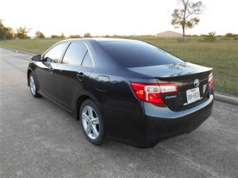 2013 Toyota Camry Se Black Export Salvage 2013 Toyota Camry Se Black On Black