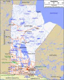 map of manitoba canada manitoba images