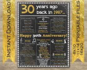 30 th anniversary 30th anniversary 30th anniversary sign 30th anniversary