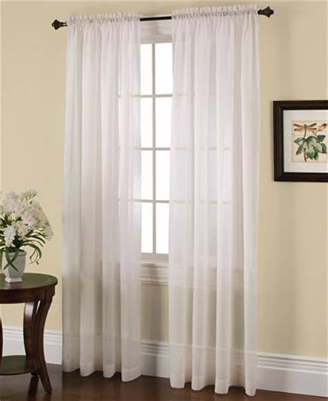 Voile Sheer Curtains Miller Curtains Solunar Crushed Voile Insulating Sheer Curtain Panel Collection Sheer Curtains