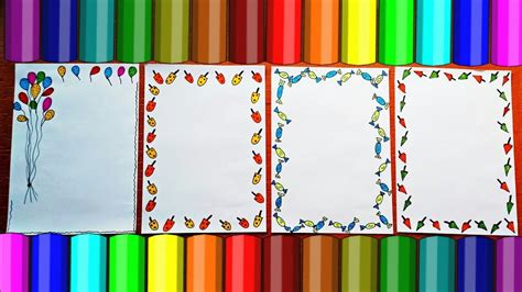 border designs on paper project design ideas how to - Decorative Designs On Paper