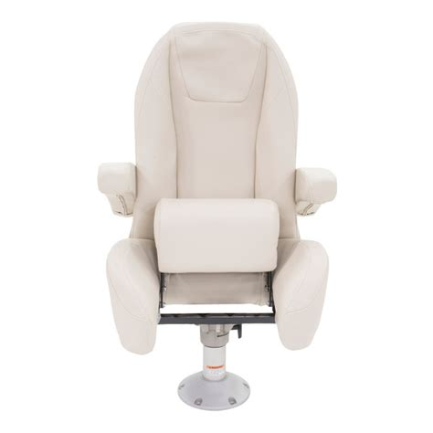 boat seats that recline lippert components mid back helm seat with recline and