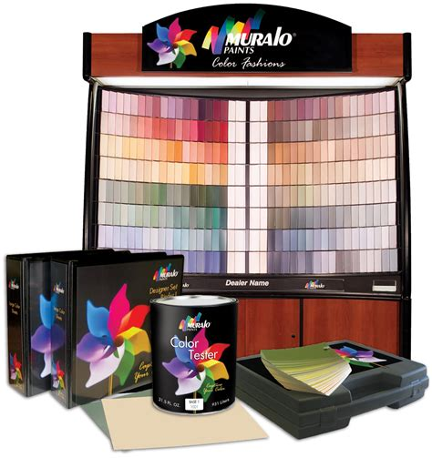 muralo paints new color fashions ease selection process for ideal look