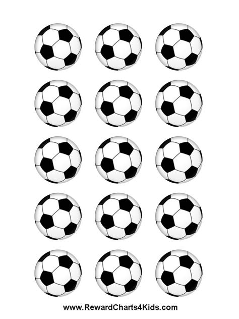 printable soccer stickers 1000 images about soccer printables on pinterest