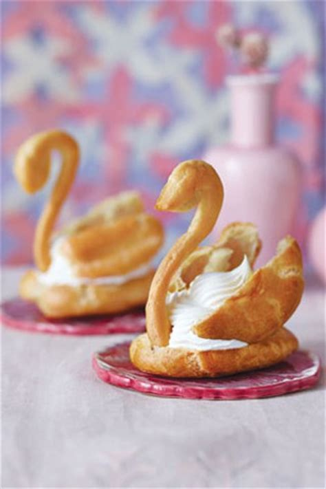 Pate A Choux Templates For Cream Puffs And Eclairs Choux Swans Template
