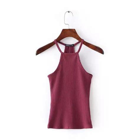 Boho Blouse Vest boho tank tops halter bustier bra vest crop top