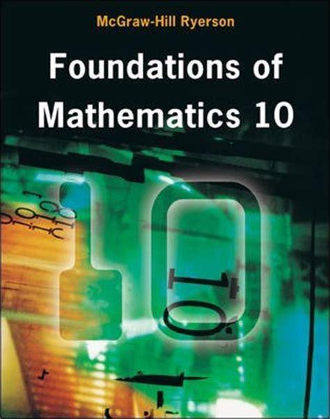foundation for college mathematics books canada eschool mfm2p textbook foundations of