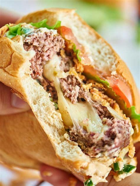 best 25 stuffed burger recipes ideas on