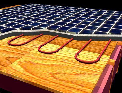 Floor Temperatures Limits:: infloor Heating :: Health