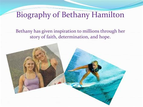 biography book on bethany hamilton ppt bethany hamilton powerpoint presentation id 2475313