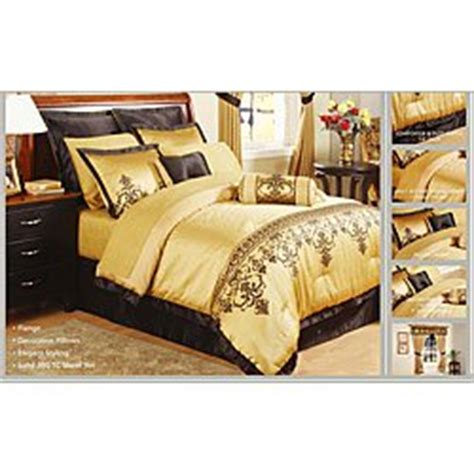 king size gold jacquard 22 comforter set
