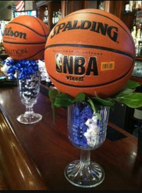 best 10 sports themed centerpieces ideas on