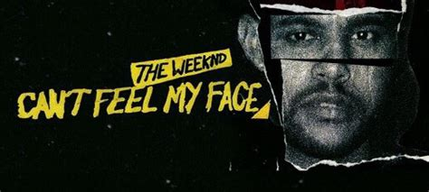 can t feel my face the weeknd storychick music monday the weeknd can t feel my face