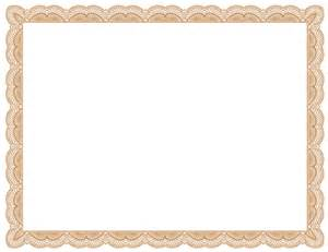 certificate borders templates free certificate border clipart clipartsgram