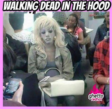 Ghetto Meme - walking dead memes ghetto red hot meme pinterest