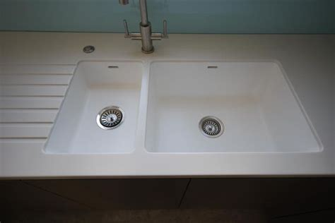 corian kitchen sinks spicy 967 969 integrated corian sink uk worktops direct
