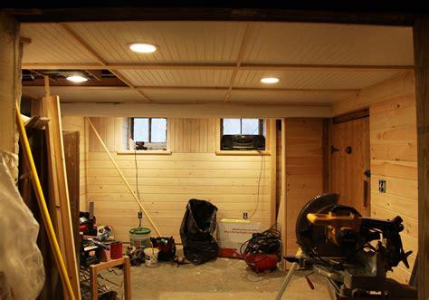 how to do basement ceiling our basement part 32 more ceiling basement floor