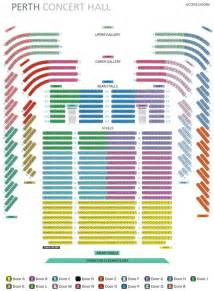 House Rules Floor Plan seating plan 187 perth concert hall