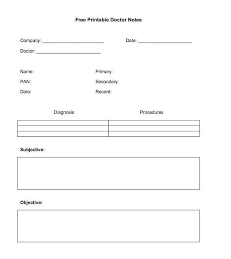 dr notes templates free 25 free doctor note excuse templates template lab