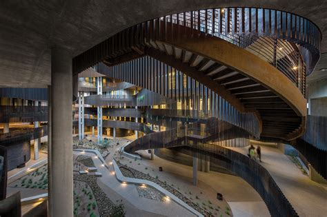 Environment Natural Resources Building II Architect Magazine Richärd Bauer Architecture
