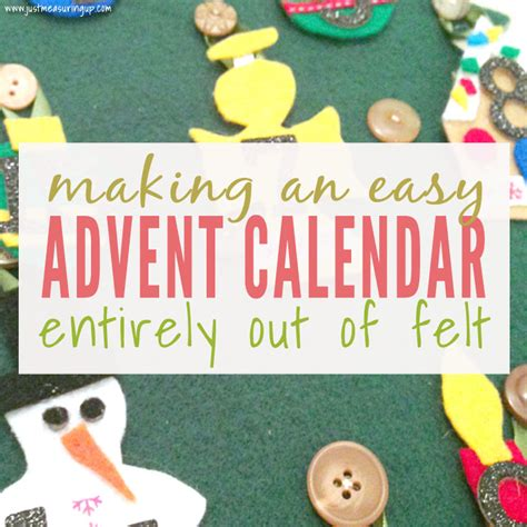 how to make an advent calendar out of paper how to make an advent calendar out of felt easy