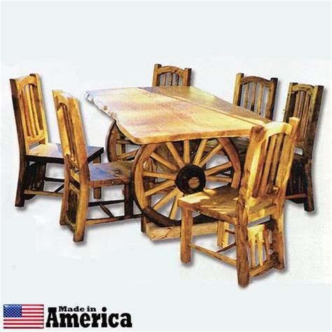 Western Kitchen Tables Best 25 Wagon Wheel Table Ideas On Wagon Wheel Decor Wagon Wheel And Milk Can Table