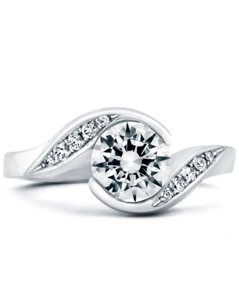 whirlwind contemporary engagement ring mark schneider