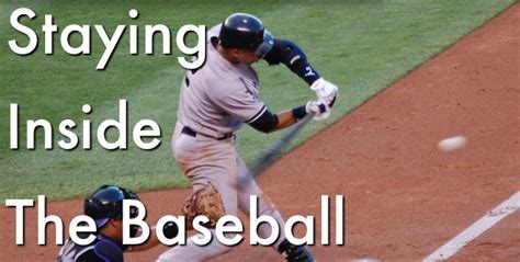 inside out swing baseball keeping your hands inside the ball hitting drills art