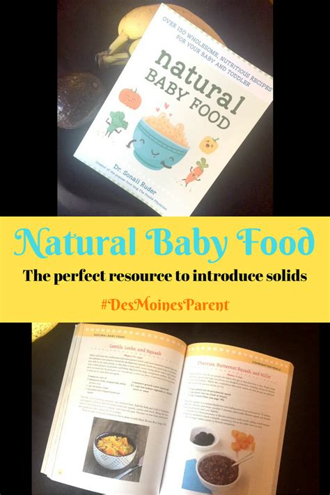 baby foods organic baby foods books baby food book a great resource des moines parent