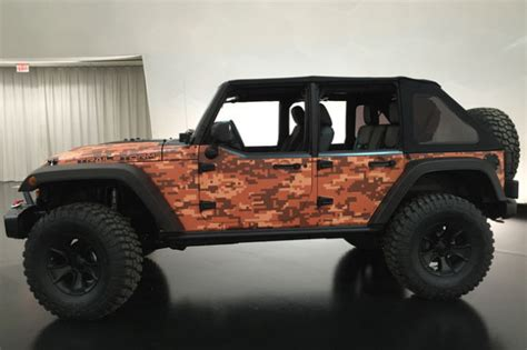 future jeep wrangler concepts the future is now jeep unveils 2016 concepts heading to