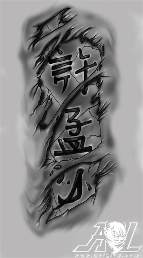 chinese letters tattoo by 71adl17 on deviantart