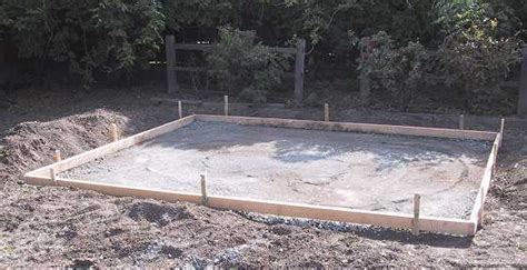 Pouring Concrete Slab For Shed by Shed 1