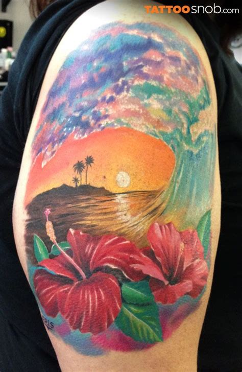 three waves tattoos surf the wave tropical tattoos a collection of ideas to try about other