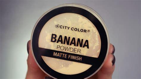 City Color Banana Powder banana powder city color rese 209 a