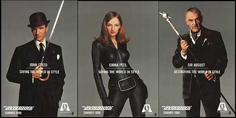 The Avengers 1998 Film The Avengers Cast 1998 Cadillac