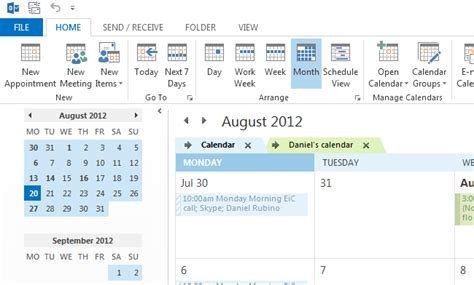 Calendrier Outlook 2013 How To Sync Calendar To Outlook For Your