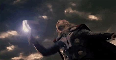 thor swinging hammer lady thor thunder succubus of lucid dream lightning