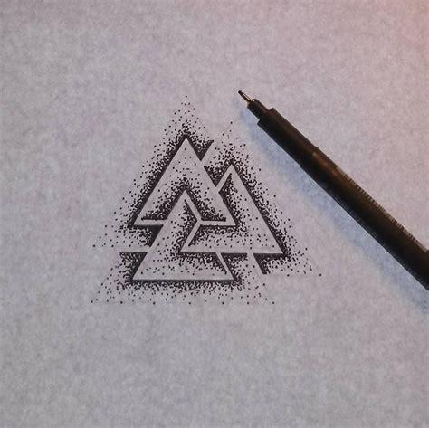 valknut tattoo meaning the 25 best warrior symbols ideas on symbol