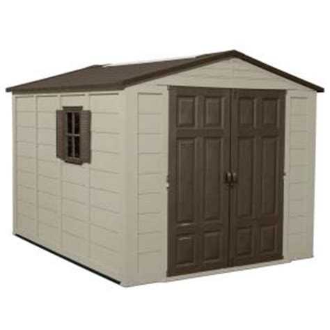 Home Depot Sheds Prices suncast 7 5 ft x 10 ft resin storage shed a01b12c01