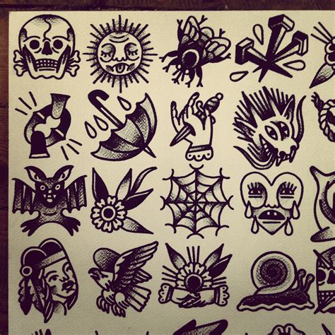 tattoo flash flash by mr levi netto all designs are 7 x 7 cm