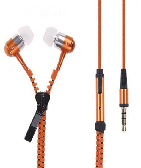 Premium Zipper Robin 1 casreen 1102868 premium zipper style wired headset with mic price in india buy casreen 1102868