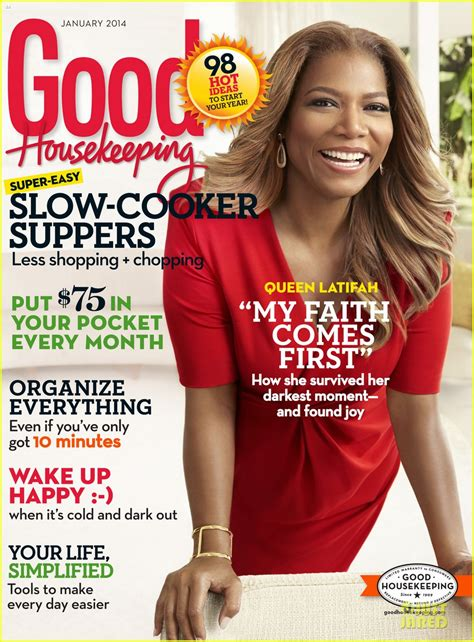 good housekeeping com queen latifah covers good housekeeping magazine january