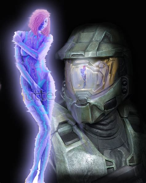 cortana find me a woman master chief and cortana love