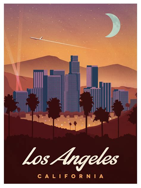 vintage ls los angeles ideastorm studio store vintage los angeles poster