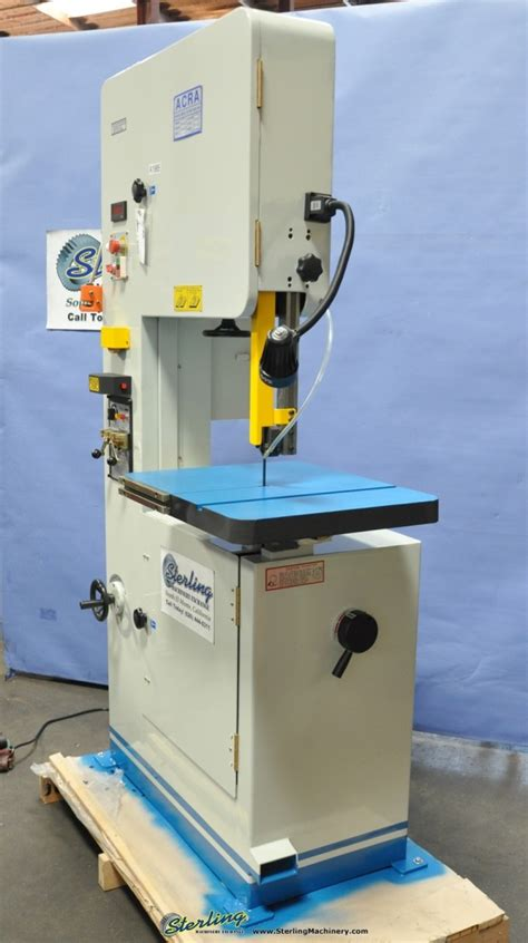 Brand New Acra Vertical Metal Cutting Bandsaw Sterling