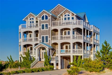 obx rental houses outer banks rentals oceanfront obx vacation rentals nc